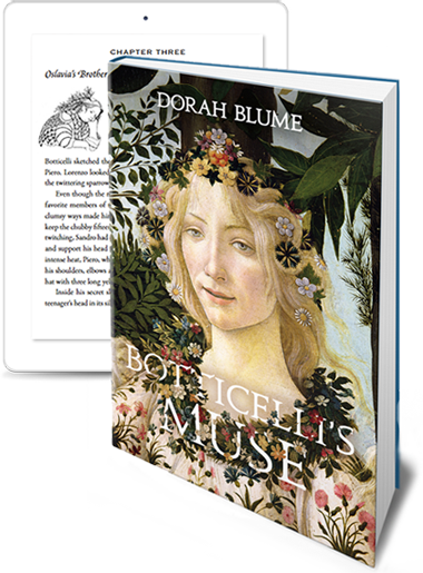 'Botticelli's Muse' by Dorah Blume