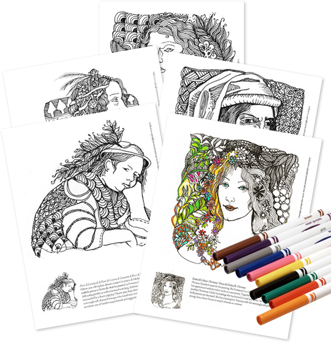 Download Your Coloring Book Pages Here
